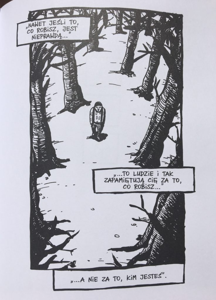 """""""Pan Żarówka"""" - komiks"""
